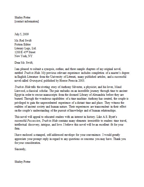 query letter template query letter creation scribendi