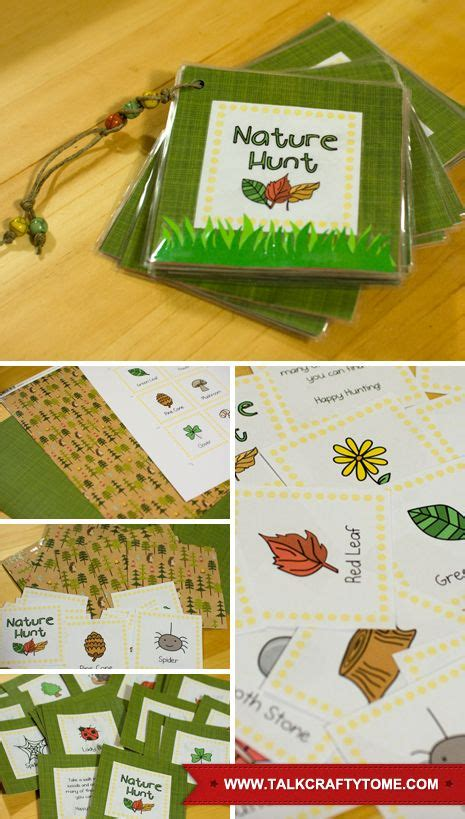 Handmade Creative Things - nature hunt hunt s and nature on