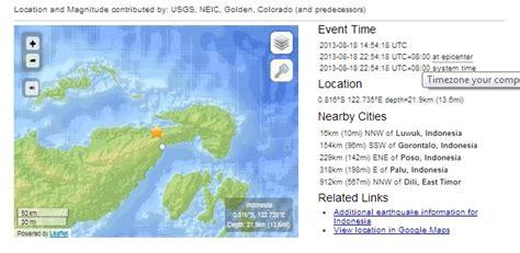 detiknews rss feed alwinraymondsoleman gempa magnitude 4 8 luwuk 2013 08 18
