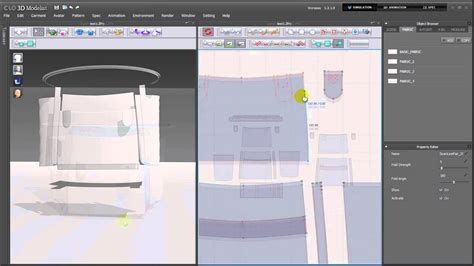 bags and suitcase pattern design software clo3d making bag youtube