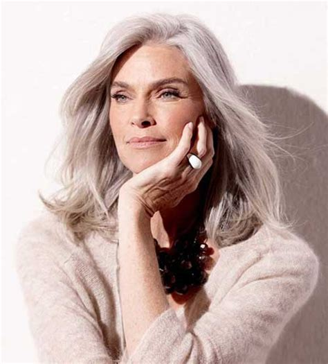 stylish haircuts for older women long hairstyles 2016 2017