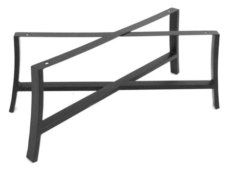 Meadowcraft Maddux Wrought Iron Coffee Table Base 4413370 01 Patio Table Bases