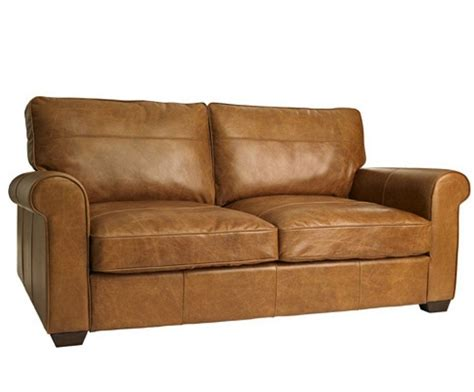 3 Seater Leather Sofas Halo Hudson 3 Seater Leather Sofa