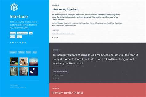 tumblr themes large posts 50 free premium tumblr themes design shack