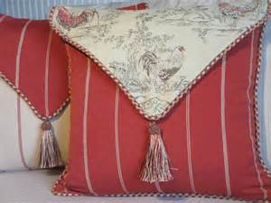country pillow cover rooster pillow and