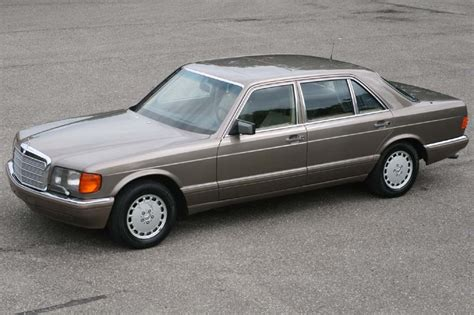 mercedes 560 sel technical details history photos