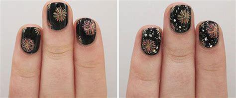 new year nail design 2015 simple easy happy new year nail tutorials 2015