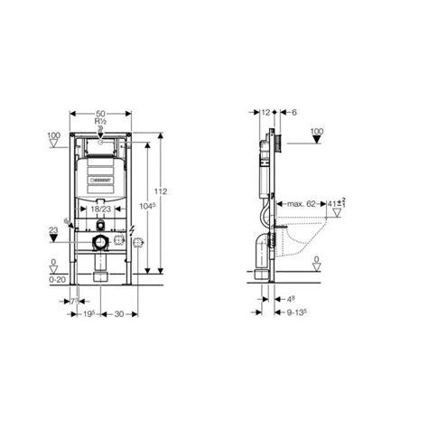 Afmetingen Ophang Wc by Geberit Duofix Up320 Inbouwreservoir H112 Cm Compleet 111