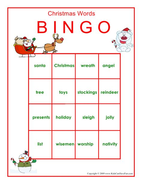printable holiday bingo games printable christmas bingo game xmasblor