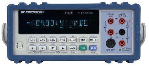 bench digital multimeter model 5492bgpib 5 1 2 digit bench digital multimeter b k precision