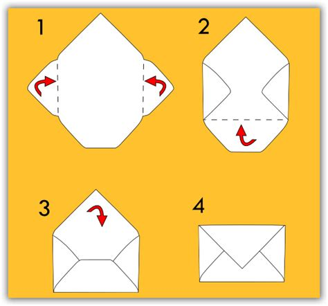 busta da lettere busta per lettera fai da te