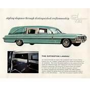 Motorize Hearse Cars Ambulance Oldsmobile Cotner Car