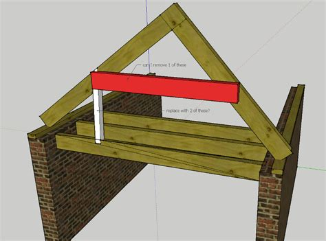 structural can i remove 1 collar tie home improvement