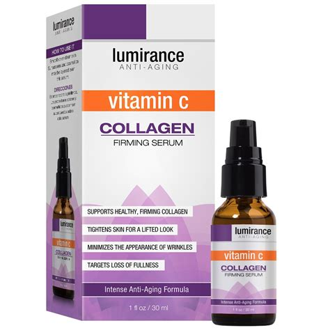 lumirance vitamin c collagen firming serum 1oz 30ml