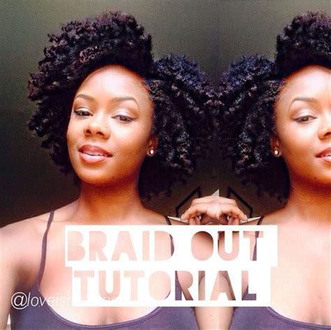 how to make black hair crinkleatural hairstyles for black women natural hair braid out tutorial video natural hair