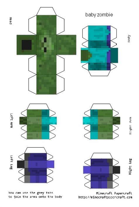 Minecraft 3d Papercraft - cr 233 ez votre skin en papier et en 3d minecraft