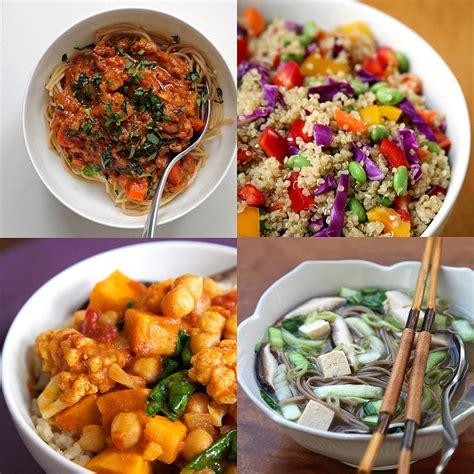 healthy vegan dinner recipes popsugar fitness