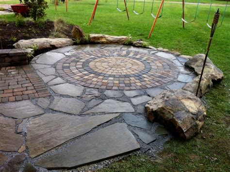 Circle Paver Patio Kits Landscaping Kits Patio Kits Patio Circle Kit Interior Designs Flauminc