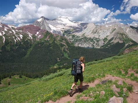 mountain hike maroon bells four pass loop mountain photographer a journal by brauer
