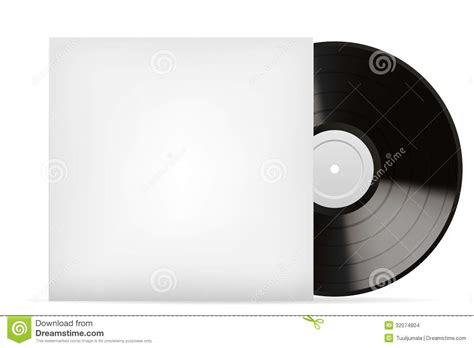 blank white vinyl cover stock images image 32074804