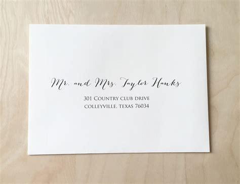 Printable Address Labels For Wedding Invitations