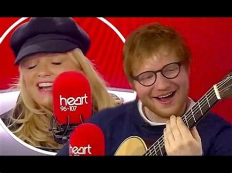ed sheeran goodbye ed sheeran sings spice girls goodbye with baby spice