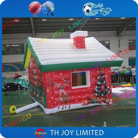 6x4m christmas inflatable santa s grotto inflatable