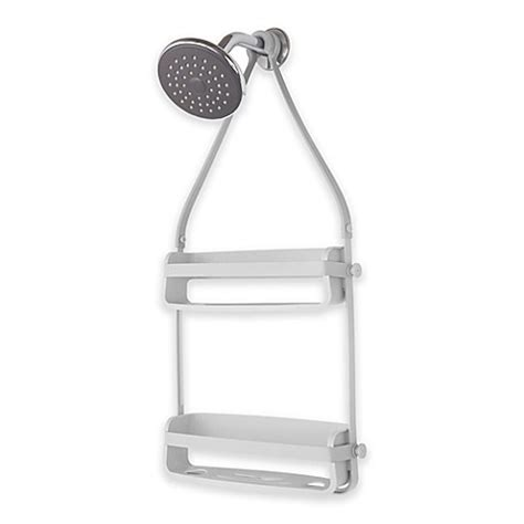 shower caddy bed bath and beyond flex shower caddy in grey bed bath beyond