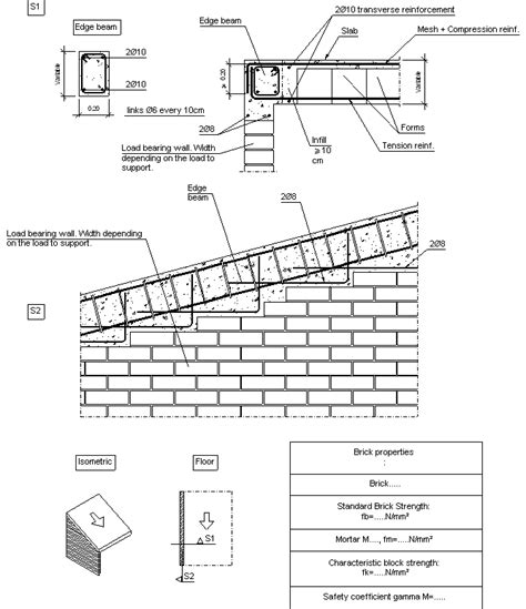 Load Bearing Wall Parallel To Floor Joists by Construction Details Cype Fiu420 Support At Span End By