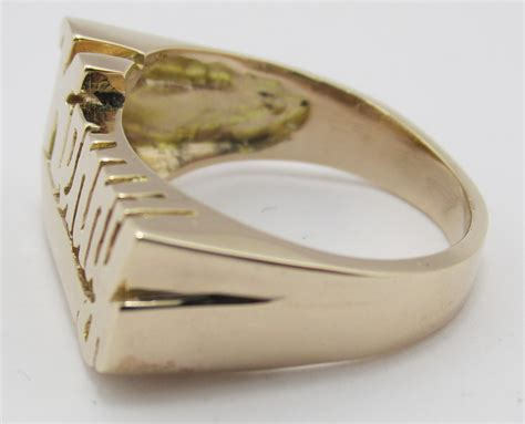 """14K Solid Yellow Gold Name Ring """" Kenny"""" (select name"""