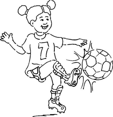 coloring page soccer girl girl playing soccer coloring pages football coloring