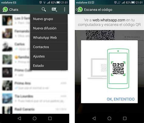 tutorial whatsapp web tablet c 243 mo utilizar whatsapp web tuexpertoapps com