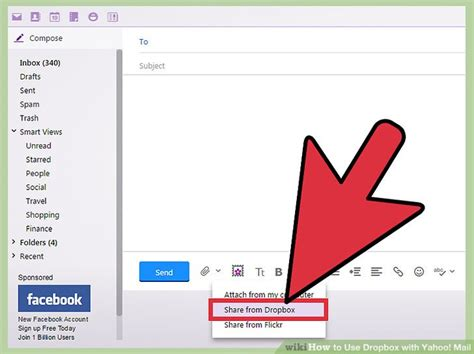 How To Search Yahoo Email How To Use Dropbox With Yahoo Mail 12 Steps With Pictures