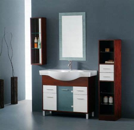 bathroom cabinet wood home conceptor