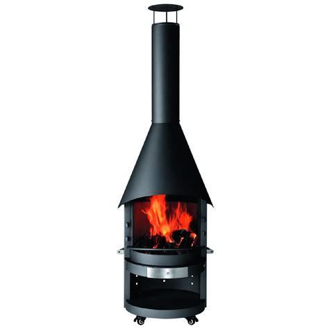 trentino outdoor fireplace char broil trentino deluxe outdoor fireplace katzpic