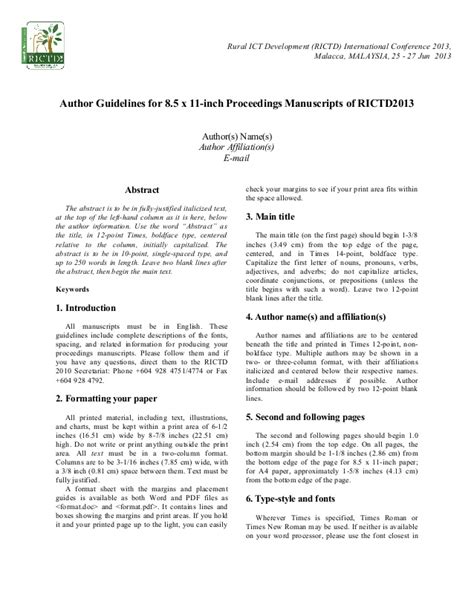 conference paper template rictd2013 paper format
