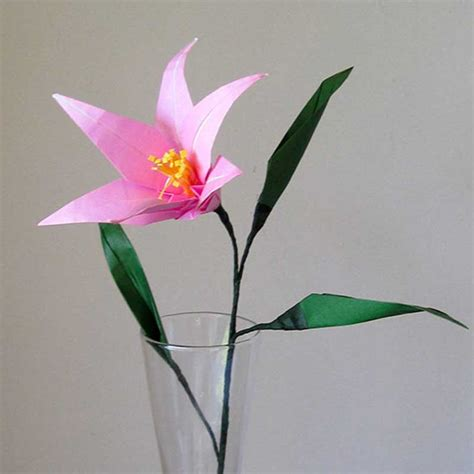 Origami Lilies - easter origami flower graceincrease custom origami