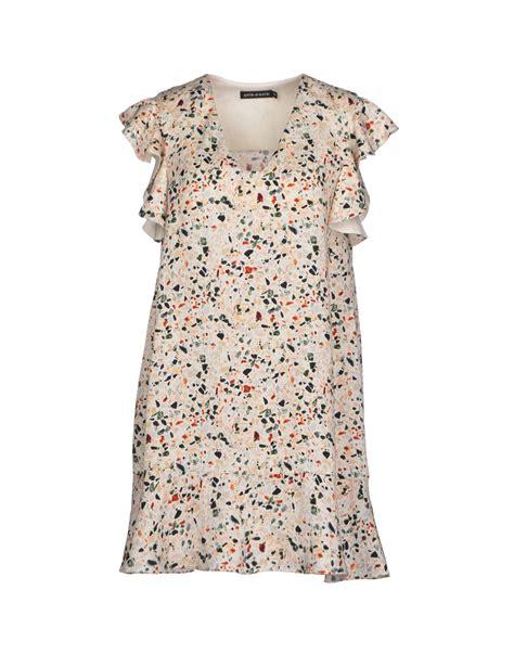 Dress Batik Free Belt antik batik dress in white lyst