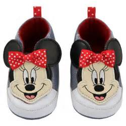 baby disney minnie mouse crib shoes gray target