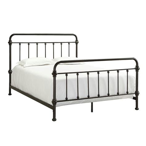 spindle bed frame spindle bed frame queen retro iron prison bar metal head foot board antique rise ebay