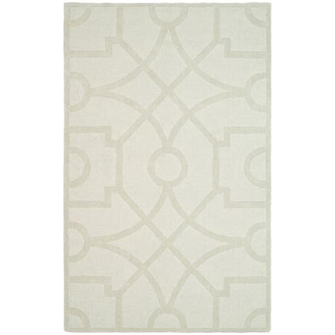 martha stewart rugs home depot martha stewart living fretwork buckwheat flour 9 ft x 12 ft area rug msr4612c 9 the home depot