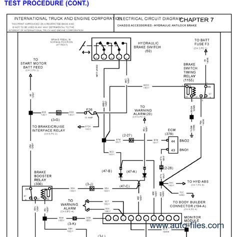 international 9400i truck wiring diagram international