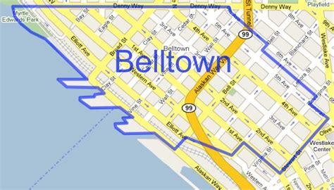 seattle map belltown belltown seattle