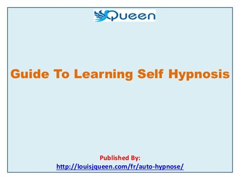 Self Hypnosis Demystified guide to learning self hypnosis