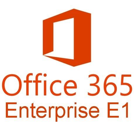 Office 365 Subscription Microsoft Office 365 Enterprise E1 Monthly Subscription
