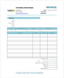 premium template catering invoice templates 8 free word pdf format