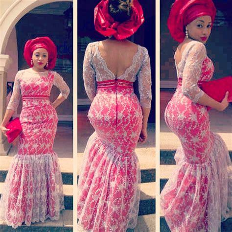 naija lace style best nigeria wedding style for ladies