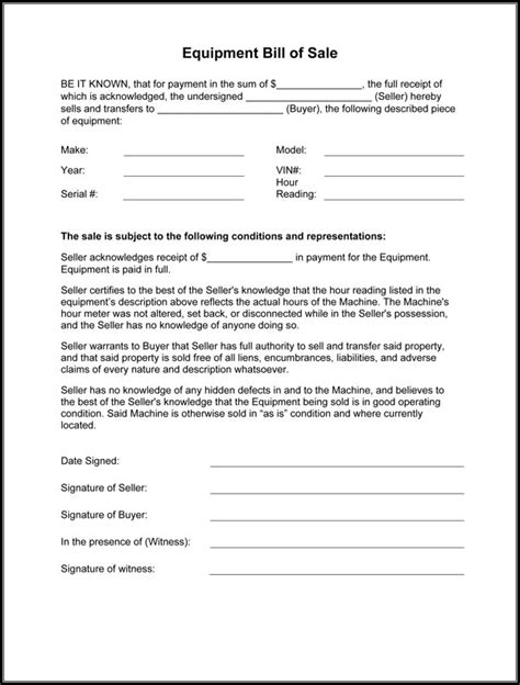 bill of sale form template form juni 2016