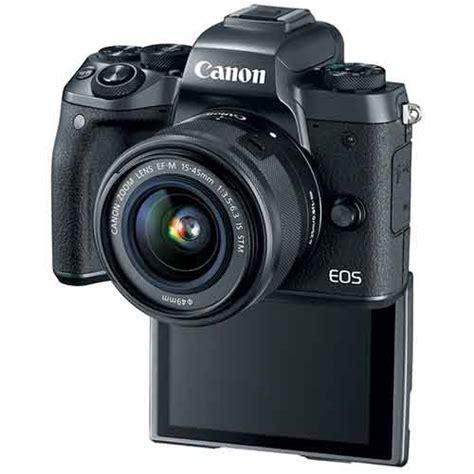 Lensa Canon M5 canon eos m5 kit 15 45mm is stm gudang digital