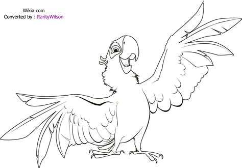 Rio Birds Coloring Pages | angry birds rio coloring pages team colors